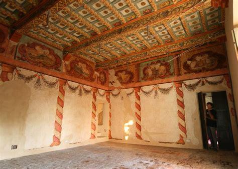 soffitti a cassettoni decorati le nostre specializzazioni restauro ligneo dino