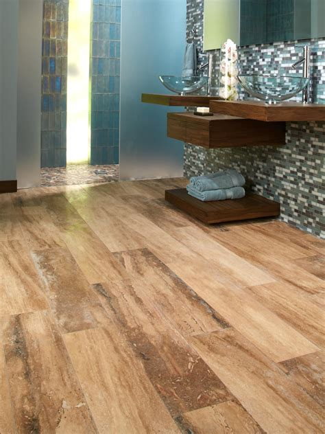 bathrooms with wood tile floors bathroom design ideas flooring ideas installation tips