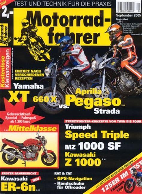 Motorrad Zeitung Triumph by Triumph Sprint St 1050 Auch Mit Abs In Motorrad