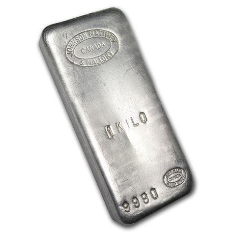 1 Kilo Silver Bar Johnson Matthey - 1 kilo silver bar johnson matthey mallory w o st