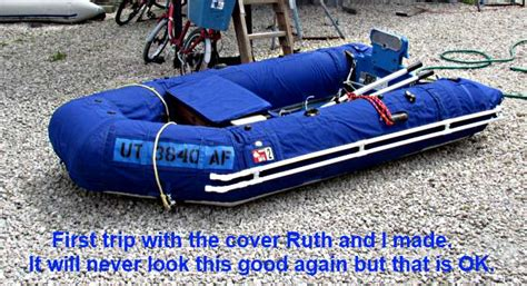 boat supplies port charlotte zodiac and put the cover on and hoped she was ready to