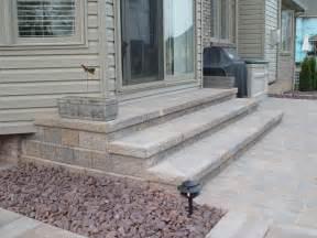 Paver Patio Steps Paver Steps Patio Brick Paver Steps Macomb County Patio Macomb County Brick
