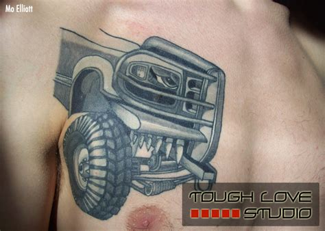 truck tattoo designs mo elliott tattoos tough studio