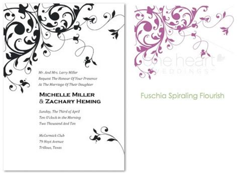 Wedding Invitation Design Free design wedding invitations free wblqual