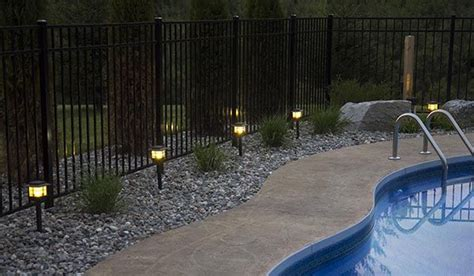 low voltage lighting near swimming pool best 25 landscaping around pool ideas on