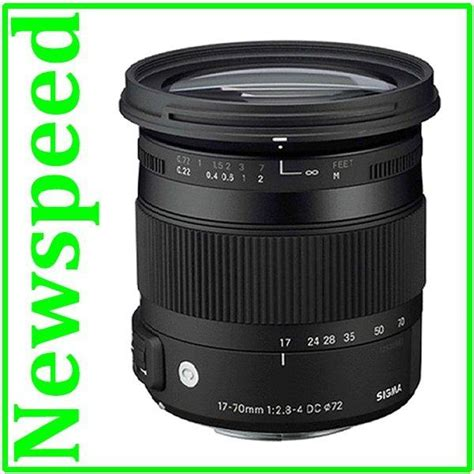 Sigma Lens 17 70mm F28 45 Dc Macro Os Hsm For Nikon Promo new nikon mount sigma 17 70mm f2 8 end 5 21 2017 10 45 am