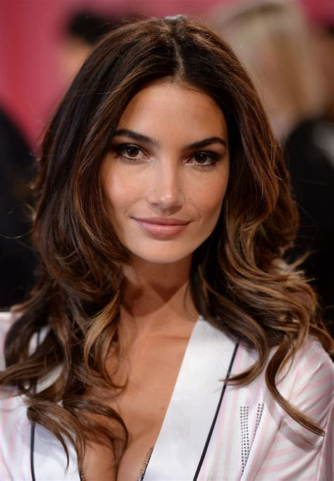 what hair colour for women of 36 years old lily aldridge backstage at the vsfs 2013 hair beauty