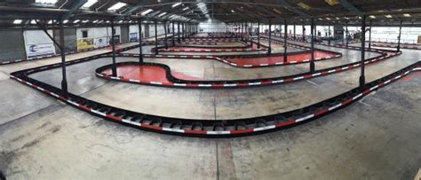 thames barrier go karting new layout and barrier system picture of capital karts