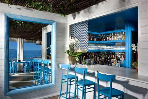 Il Riccio ? Stylish Waterfront Restaurant In Capri   iDesignArch   Interior Design, Architecture