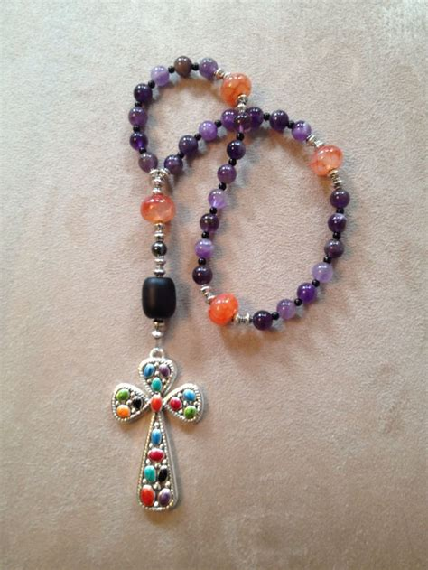 protestant prayer handmade anglican protestant prayer with amethyst