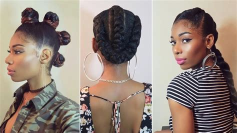 hairstyles to do with kanekalon 29 natural hairstyles pics using braid hair all your