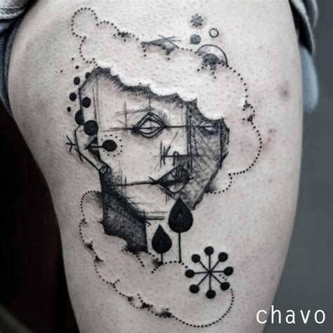 light touch tattoo abstract tattoos that meander the by chisato chavo