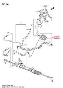 electric power steering 2008 suzuki xl 7 instrument cluster 2007 2009 suzuki xl7 power steering pump genuine oem 49100 78j21 ebay