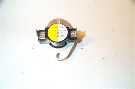 white rodgers fan limit white rodgers 3f01 160 cut in 160f cut out 140f fan limit