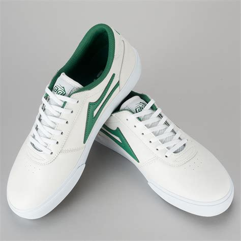 green and white shoes buy lakai manchester shoe white green white available at