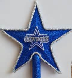 items similar to dallas cowboys christmas tree topper on etsy