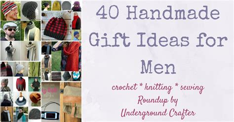 Handmade Gift Ideas For Guys - 40 handmade gift ideas for underground crafter