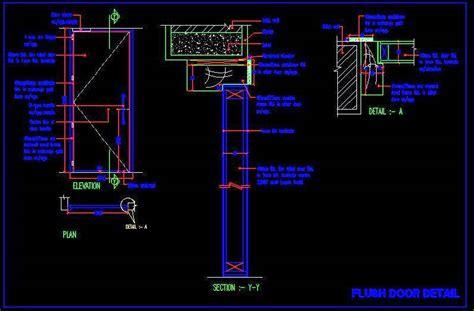 Curtain Designs For Kitchen Windows flush door fabication detail plan n design