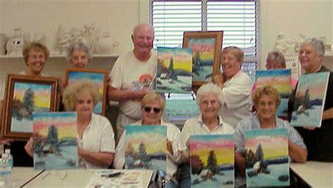 bob ross painting classes mn lenherr bob ross instructor in florida