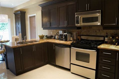 espresso kitchen cabinets kitchen color schemes with espresso cabinets kitchen