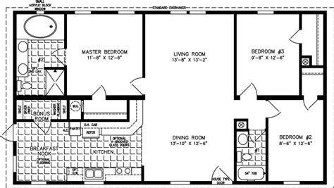 the t n r model tnr 46811w manufactured home floor plan the t n r model tnr 44812b