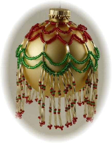free beaded ornament cover patterns ornaments beaded ornament covers and patterns on