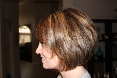 stacked cut hairstyle for older women pictures of long shag haircuts for older women long