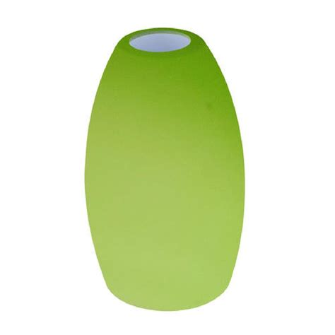 green and purple l shade 1 replacement drop pendant light frosted glass shade