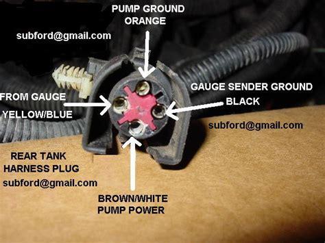 fuel pump wiring problem   ford