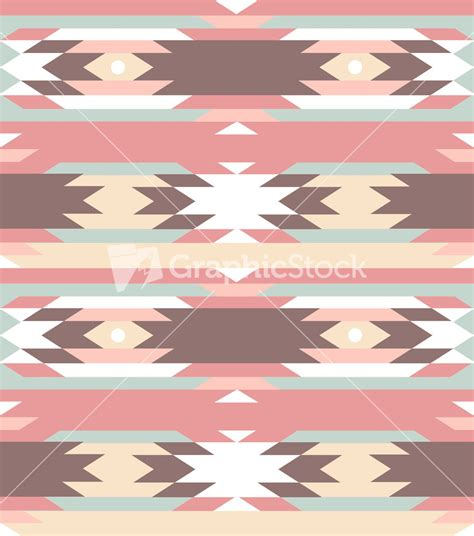 geometric pattern stock seamless geometric pattern in aztec style stock image