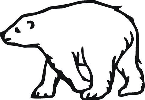 coloring page of a polar bear polar bear 20 coloring online super coloring clipart