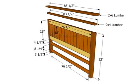 building a bed headboard how to build a bed frame with drawers howtospecialist