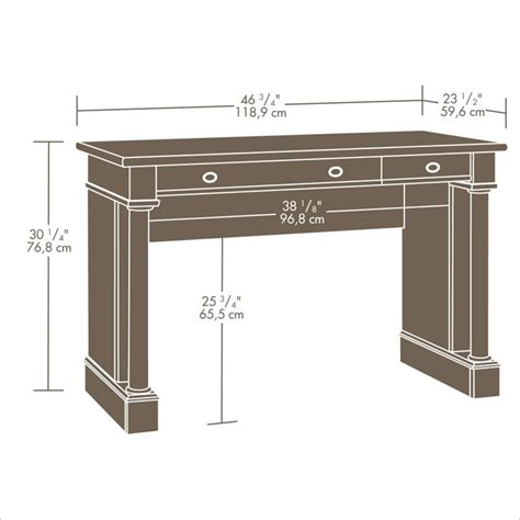 Sauder Palladia Desk by Sauder Palladia Select Cherry Finish Writing Desk Ebay