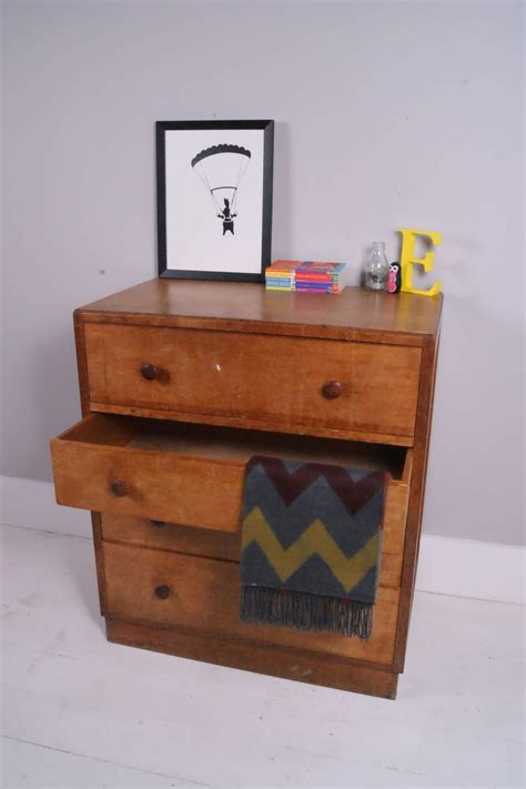 Children Chest Of Drawers by Children S Chest Of Drawers With Pull Out Desk Blue Ticking