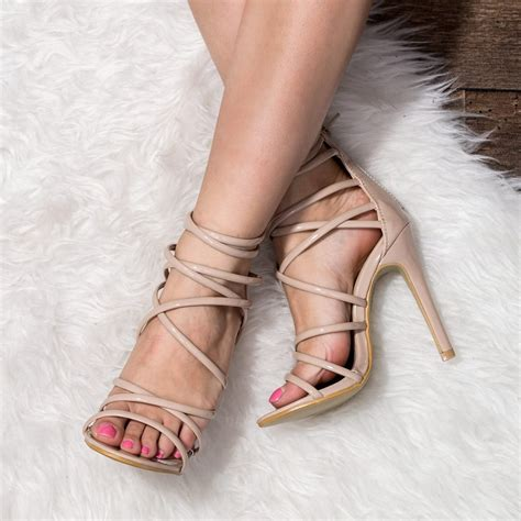 High Heel Peep Toe Sandals uzi sandals shoes from spylovebuy
