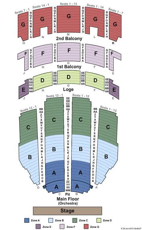 adler theater seating chart million dollar quartet theater tickets clickitticket