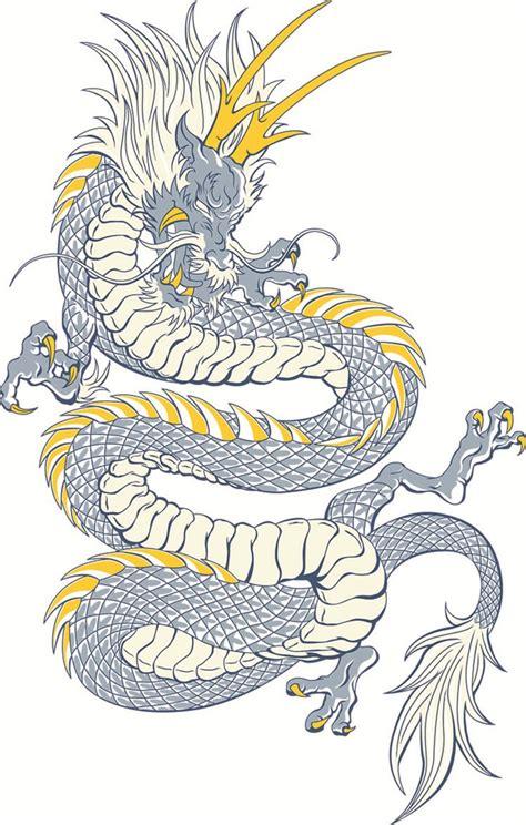 中国传统龙矢量图 素材公社 tooopen com