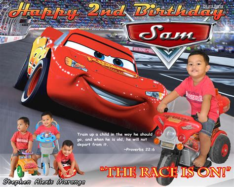 layout design maker for tarpaulin cars birthday banner template templates ideas