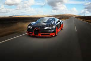 Bugatti On The Road Bugatti Veyron On Road Hd Wallpaper Hd Wallpapers