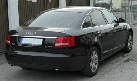 Audi A6 2 0 Tdi Probleme by Audi A6 C6 2 0 Tdi Rear Dietro Nera Berlina 2 0 Tdi