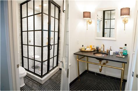 cream and black bathrooms vintage accented texas home part two inspired by this