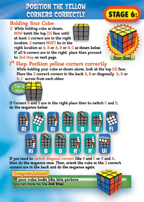 3x3 rubik s cube tutorial short algorithms layer rubik s 3x3 solving guide stage 6 page 8 for the boys