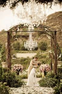 Chandelier Weddings Chandeliers And Outdoor Weddings The Magazine