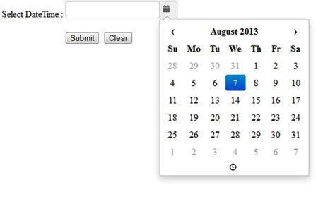 date format in javascript with timezone date time picker in jquery and javascript