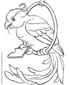 Pet Bird Coloring Pages  Free Printable And sketch template