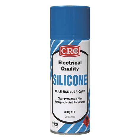 Crc Electrical Quality Silicone 2094 clear silicone spray waterproof crc eq silicone
