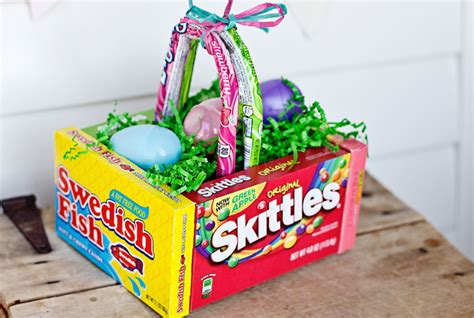 diy easter basket ideas diy edible easter egg basket