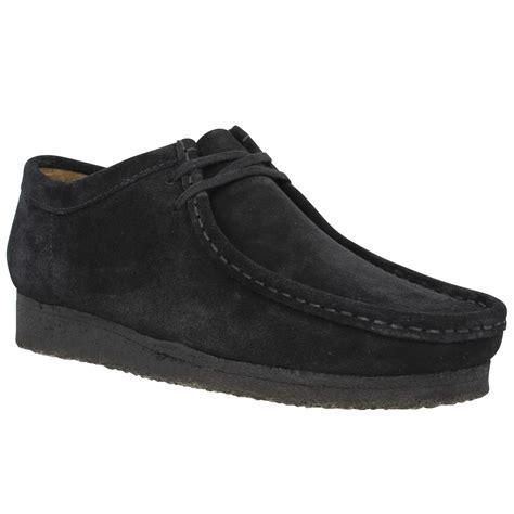 clarks originals wallabee velours homme noir homme chaussures
