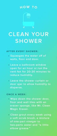 here s how often you should clean your shower and the