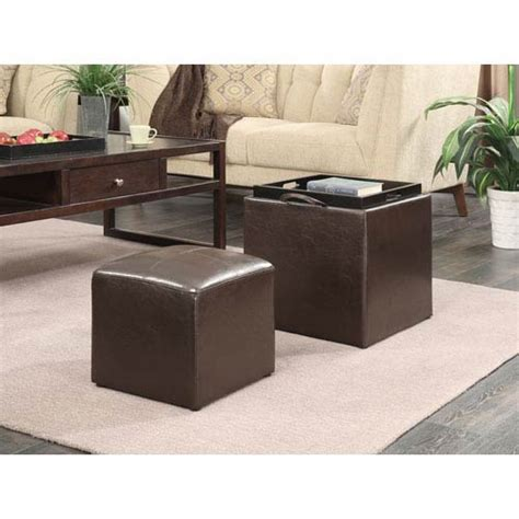 ottomans with trays and storage storage ottomans with serving trays on sale bellacor